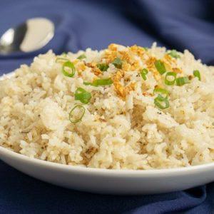 Garlic rijst